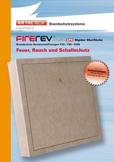 Feuer, Rauch und Schallschutz - AIR FIRE TECH