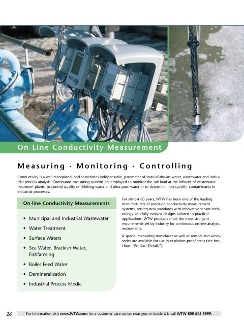 On-Line Conductivity Measurement Measuring ... - Fagerberg