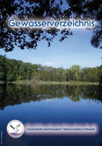 Gewässerverzeichnis des LAV PDF - Esoxhunter