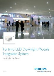 Fortimo LED Downlight Module Integrated System