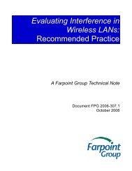Evaluating Interference in Wireless LANs - Computerworld