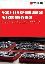 Kijk hier voor de folder in pdf - Würth Nederland