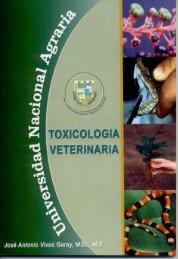 toxicología veterinaria - Centro Nacional de Información y ...