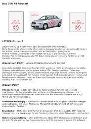 Das DIN A4 Format! LETTER Format? Was ist ein PDF? - Adobe ...