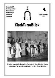 KirchTurmBlick .