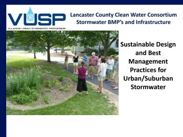 Stormwater BMP Research - Lancaster County Clean Water ...