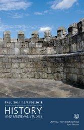 HISTORY - University of Toronto Press Publishing