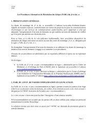 Procédures alternatives de résolution des litiges du .fr et du .re - Afnic