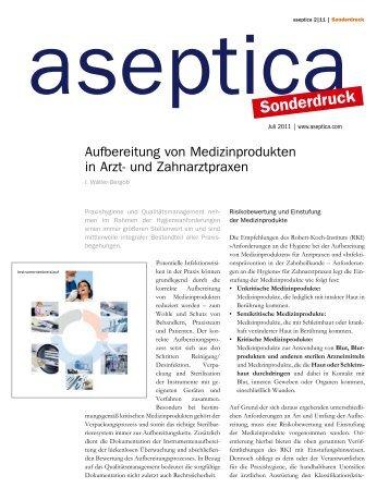 Aufbereitung von Medizinprodukten - iwb-consulting.info