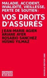 VOS DROITS D'ASSURÉS