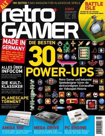 Retro Gamer 3/2013: Leseprobe - GamersGlobal
