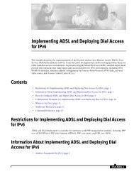 Implementing ADSL and Deploying Dial Access for IPv6 Example