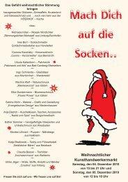 Weihnachtlicher Kunsthandwerkermarkt - Höerhof