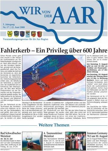 Besuchen Sie unsere neue homepage: www.hohenstein-hessen.de