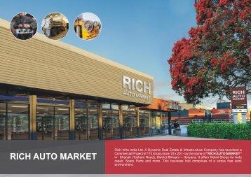 RICH AUTO MARKET - Rich Infra