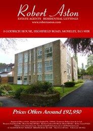 8 godrich house, highfield road, moseley, b13 9hr - ISSL