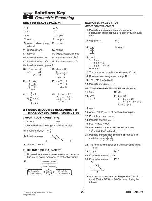 Geometry Ch 2 solutions key geo_ch_2_solutions_key pdf