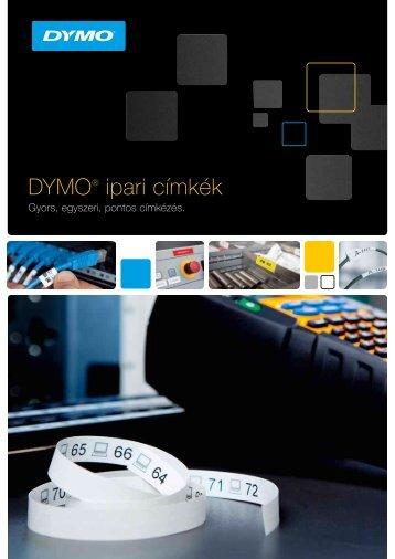RHINO szalag brosúra - DYMO