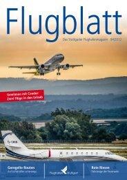 Das Stuttgarter Flughafenmagazin 04|2012 Rote Riesen Geregelte ...