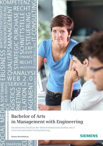 Bachelor of Arts in Management with Engineering - Siemens