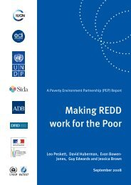 Making REDD work for the poor - Ecosystem Marketplace