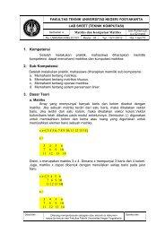 labsheet 3 disini - Blog at UNY dot AC dot ID - Universitas Negeri ...