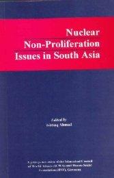 Nuclear non proliferation - Ishtiaqahmad.com