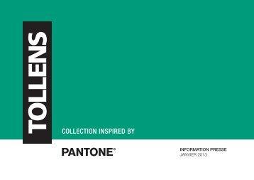 Communiqué de Presse Pantone - Tollens Particuliers