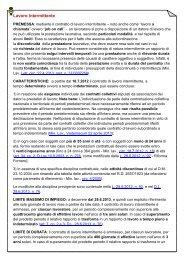 Lavoro intermittente - UIL Basilicata