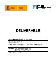 DELIVERABLE - CRISES research group