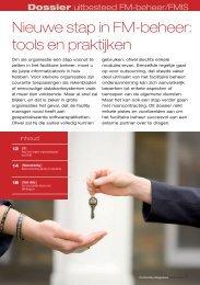 Download gratis de PDF van dit artikel om het ... - ProFacility.be