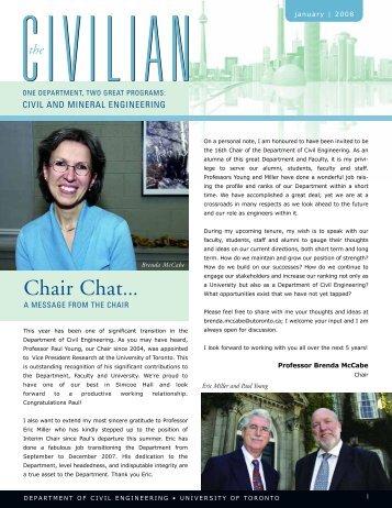Civilian Jan21 2008.qxd - Civil Engineering - University of Toronto