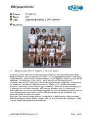 U11-1 - New Basket 92 Oberhausen