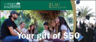 Annual Fund - LAU Publications - Lebanese American University