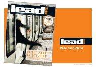 LEAD digital Rate Card - Verlag - W&V