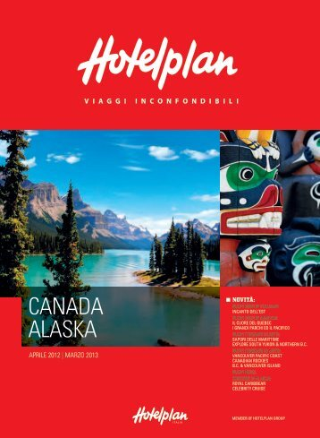 CANADA ALASKA - Travel Operator Book