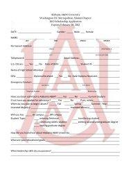 WashingtonDC2012 Scholarship Application - Alabama A&M ...
