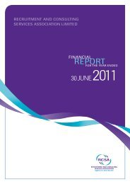 2010-2011 Annual Report - RCSA