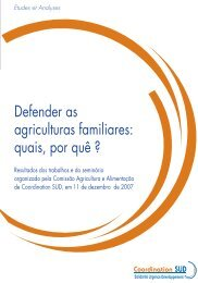 Defender as agriculturas familiares - aGter