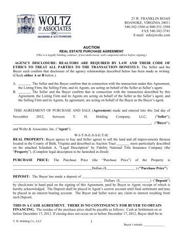 California Residential Purchase Agreement And Joint Escrow