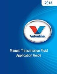 Manual Transmission Fluid Application Guide - CARQUEST Auto Parts