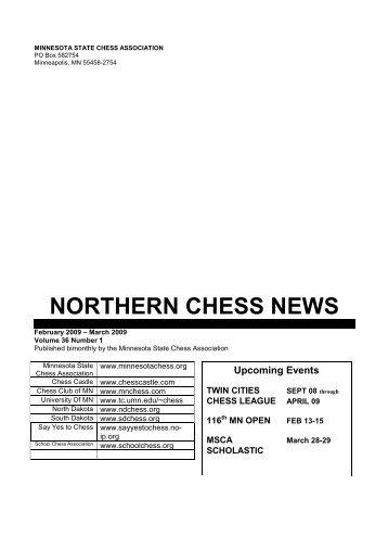 NCN Chess News Vol 36 Number 1b - Minnesota State Chess ...