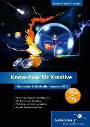 Know-how für Kreative