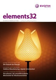 elements32 - Evonik Industries