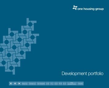 One housing group - Development portfolio