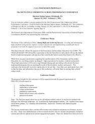 CALL FOR SESSION PROPOSALS - pafpc