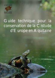 Guide technique pour la conservation de la Cistude d'Europe en ...
