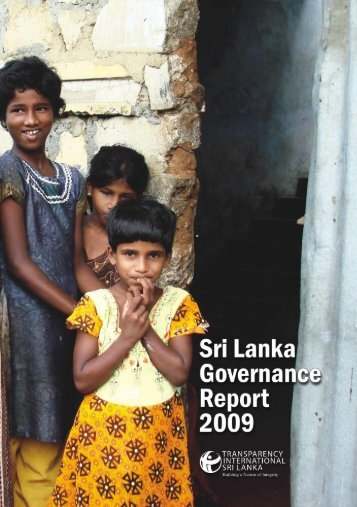 Download Sri Lanka Governance Report 2009 - Transparency ...
