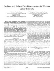 Scalable and robust data dissemination in wireless sensor networks ...