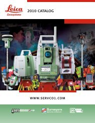 or Send Us - Leica Geosystems